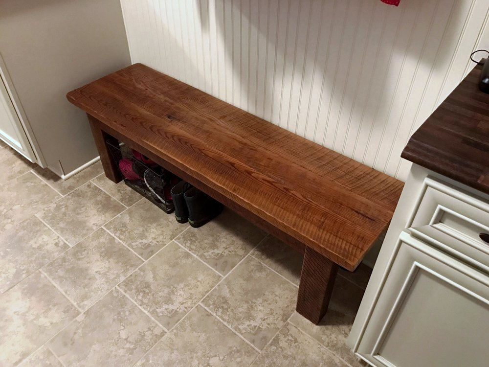 Handcrafted Bench