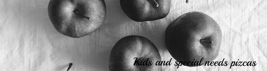Apples for apple sauce.  How to make foods for special needs kids.