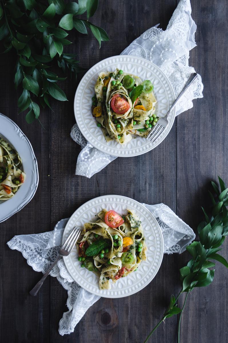 Papardelle summer recipe