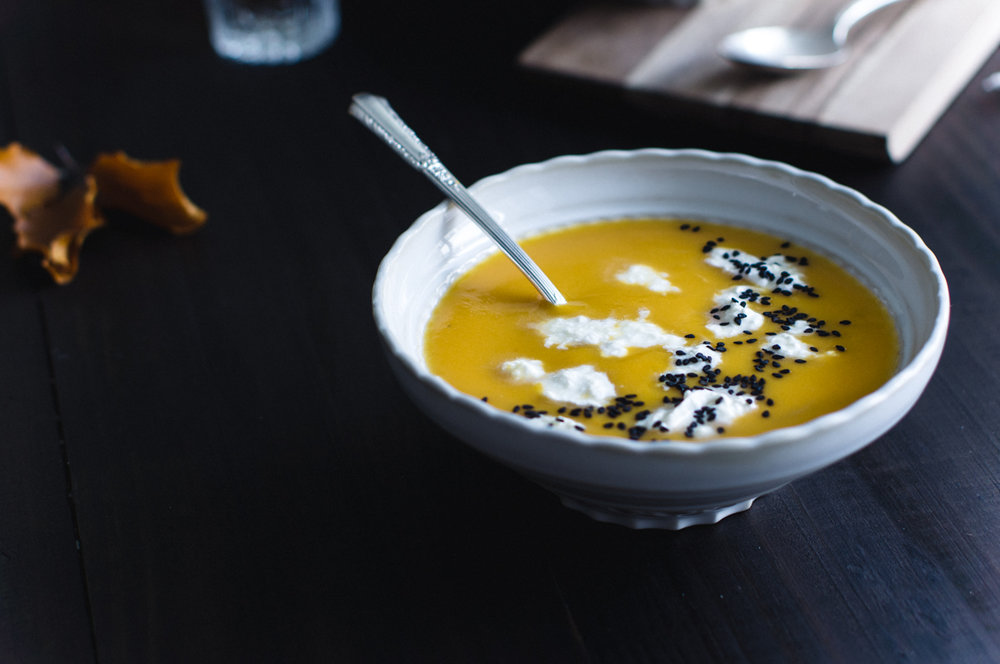 3 ingredients pumpkin soup