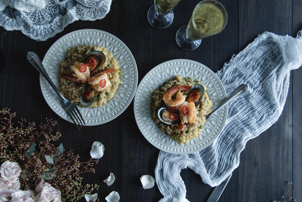 Spicy risotto recipe