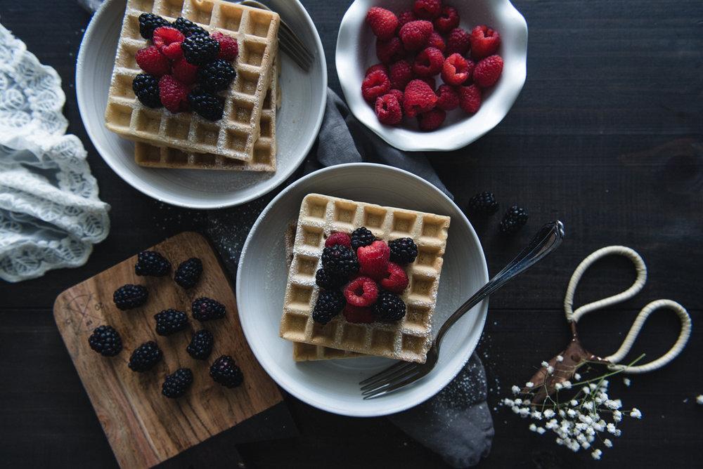 Vanilla waffles recipe