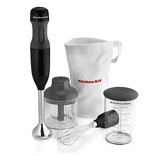 - This immersion hand blender probably was one of my first small kitchen appliances. Besides making creamy soups, I can't tell how my