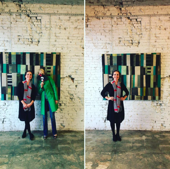 My reception at Centric Projects with Gilda's Club KC.  Photo courtesy of Lynn Schultz (@scoobyinkc on Instagram)