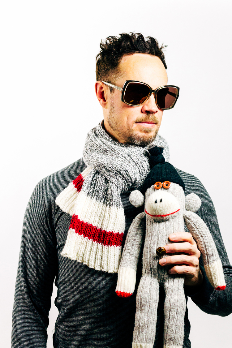 Knit Your Own Sock Monkey Scarf — PUDDINGyarn
