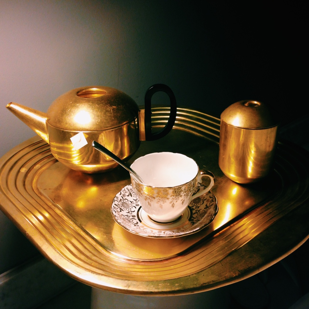Tom Dixon tea service