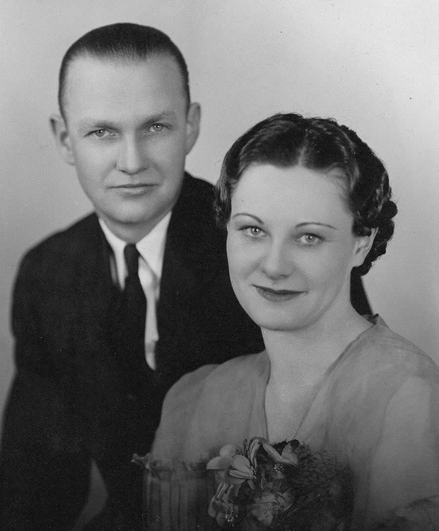 Goodwin & Dorothy Thompson, 1936 (image courtesy of Philip Thompson)