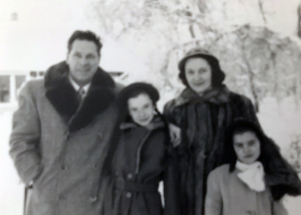 Hamilton Englert Family, 1950 (image copyright, W.L. and D.K. Talbott Trust)
