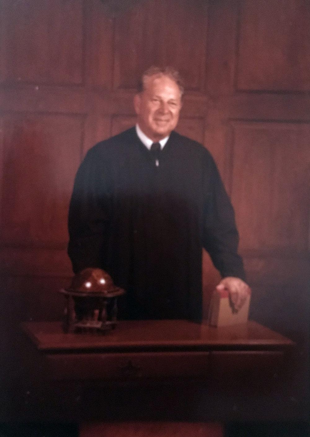 Judge Hamilton Englert, circa 1980 (image copyright, W.L. and D.K. Talbott Trust)