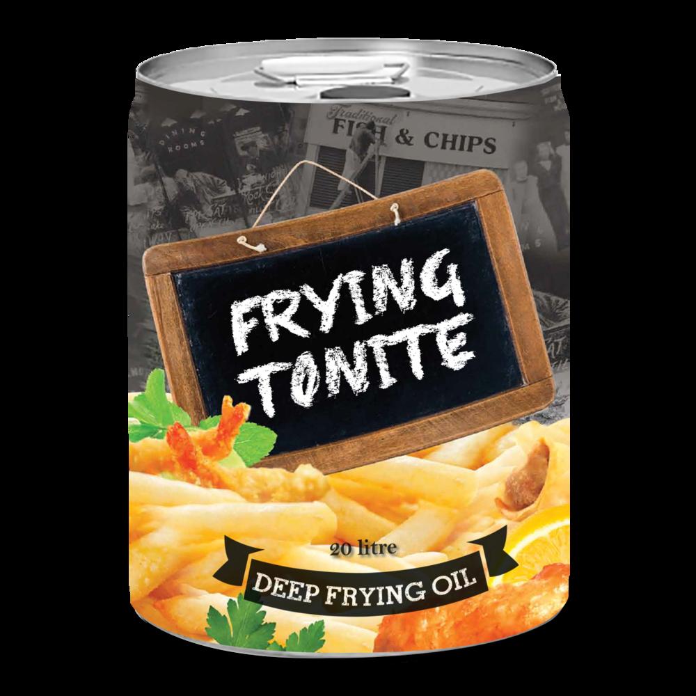 Riverina Oils Frying Tonite Tin