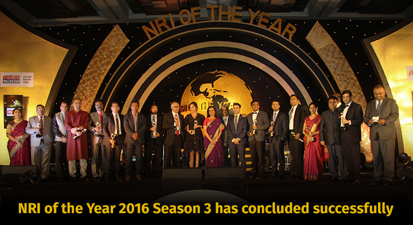 THE NRI OF THE YEAR AWARDS 2016 - http://www.nrioftheyear.com/
