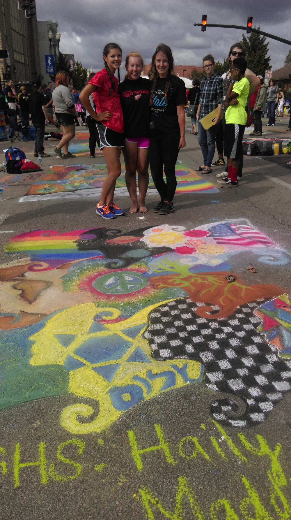 What is Chalk Walk?
