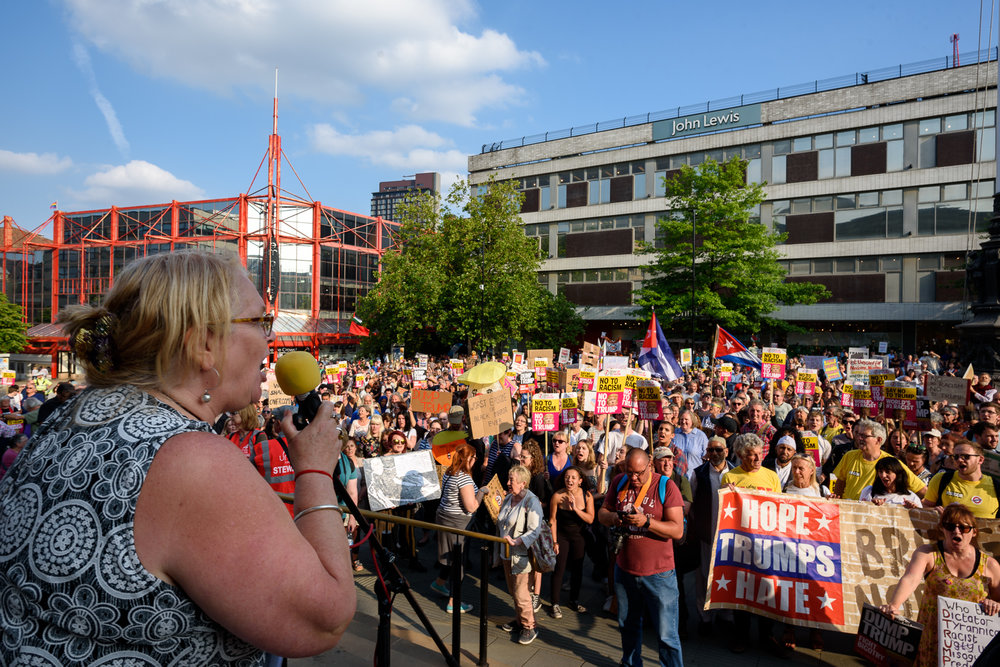 Sheffield Anti-Trump rally July 2018 Blog04.jpg