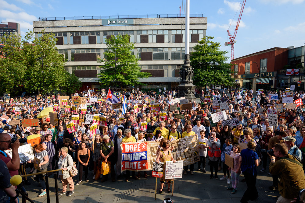 Sheffield Anti-Trump rally July 2018 Blog05.jpg
