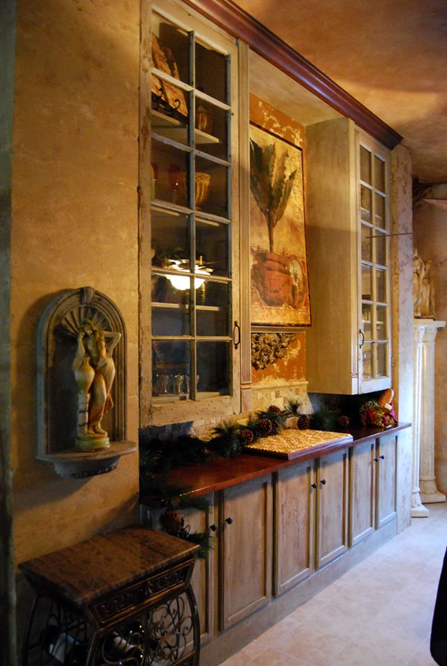 Italian inspiration feature wall