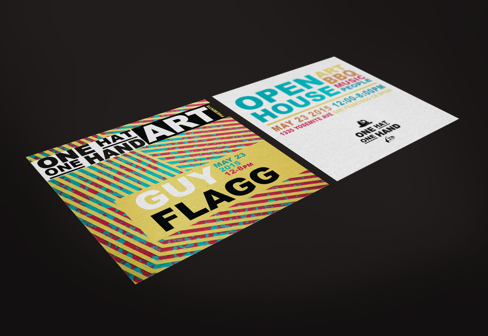 Event Flyer, Onehatonehand.com