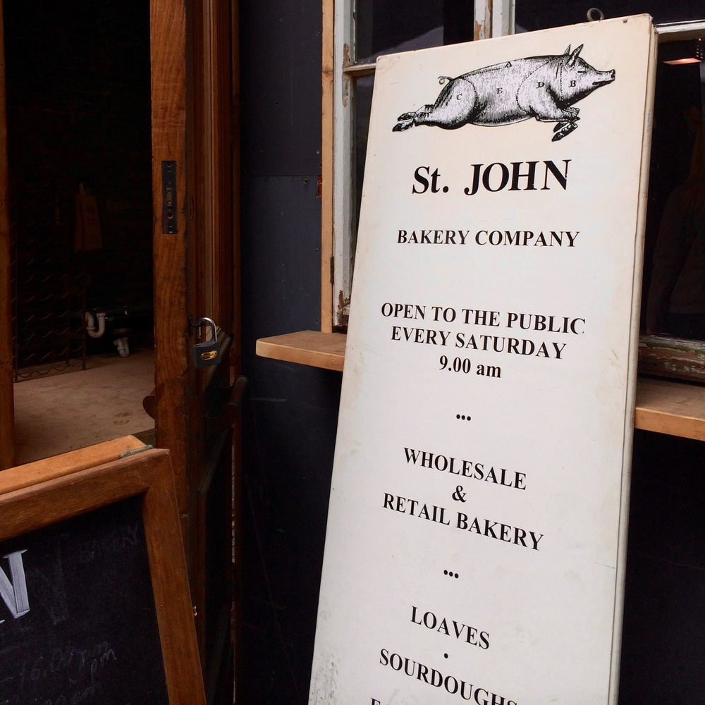 St. John Bakery, 72 Druid St., London SE1