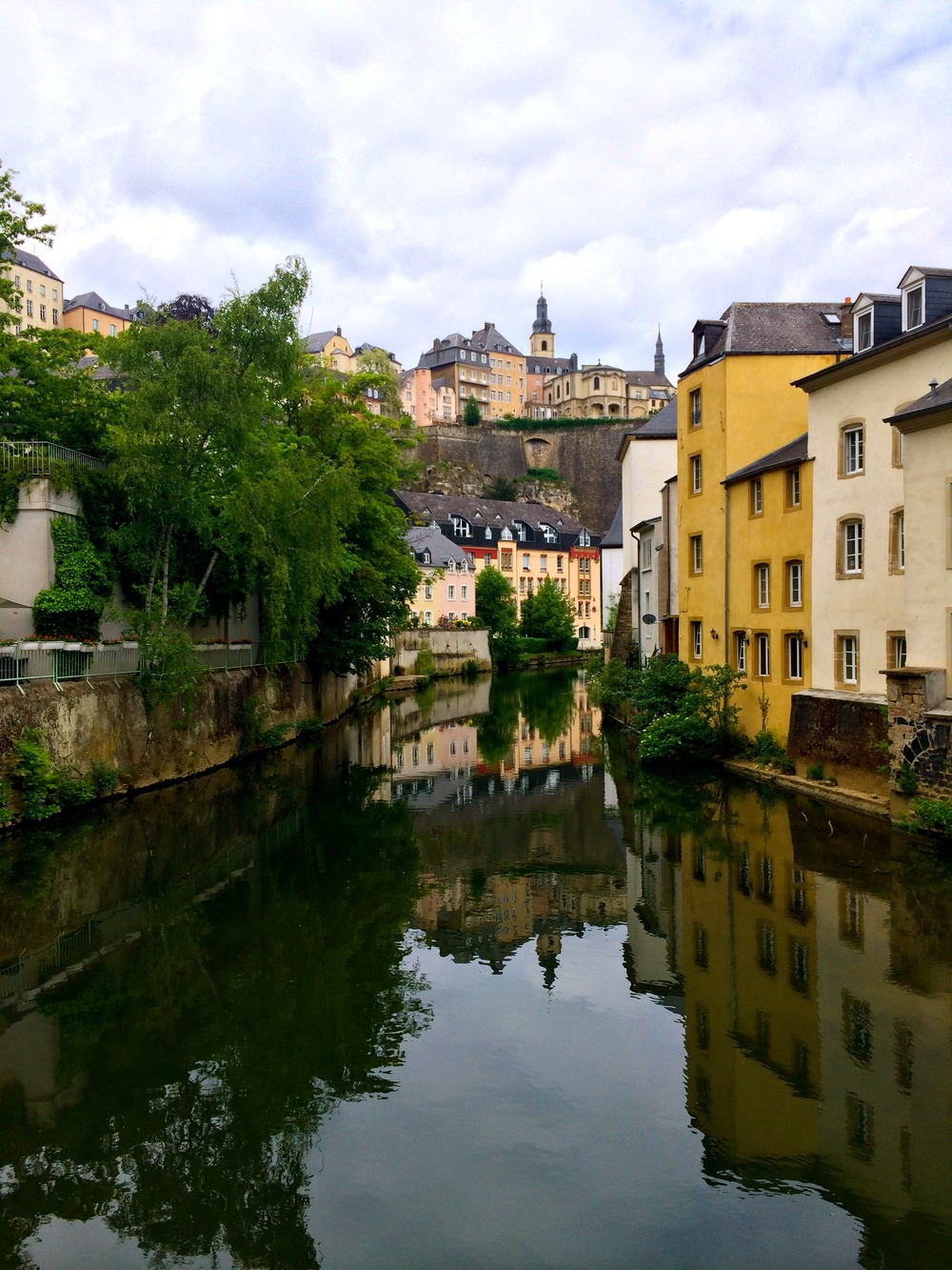 The view next to Mosconi, 13 r. Münster, Luxembourg City