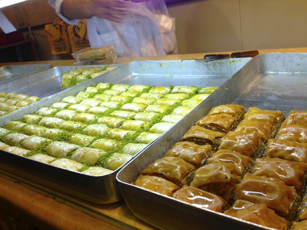 Baklava everywhere!