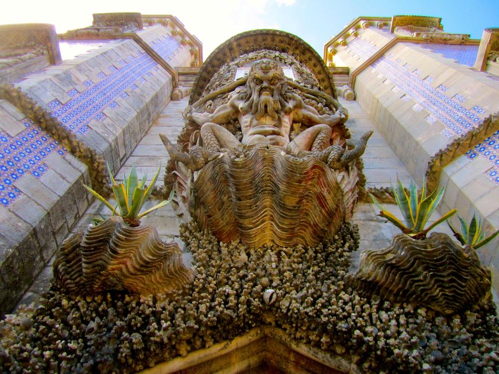 Triton Gate, Pena Palace, Sintra, Portugal