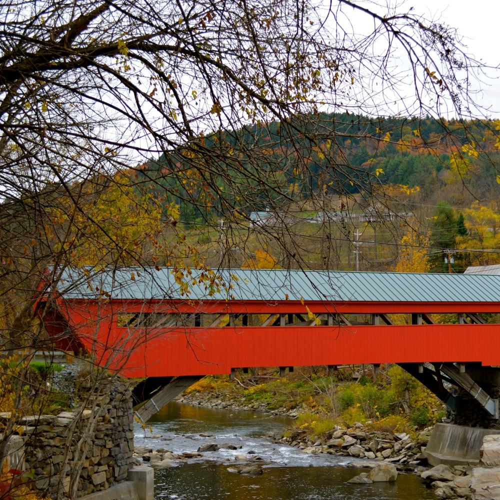 Taftsville Covered Bridge, Woodstock