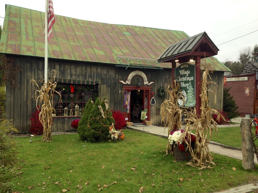 Village Christmas Shop, Weston