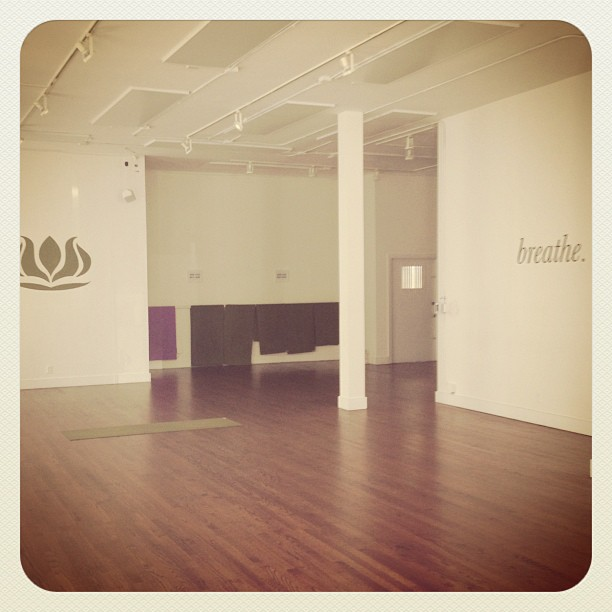 """Couldn't be happier to be back to """"work"""" at this beautiful studio where magic happens everyday! (at the pad studios)"""