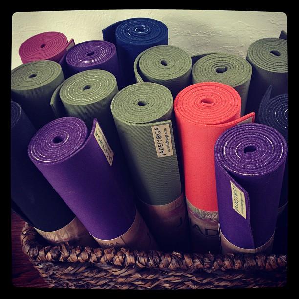 Jade Yoga mat. Best $60 I have ever spent.