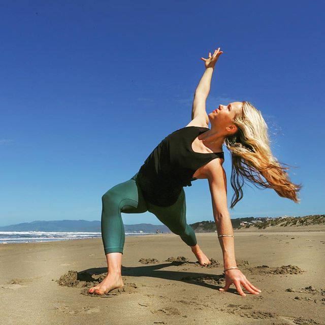 "It's that time of year again— Beach Yoga!!🎉🎉 Join me Sunday, April 7th  Outdooryogasf.com offers a beautiful way to get outside, practice all-levels yoga, practice right on the ocean and feel alive. There's nothing like yoga on the beach to drop in to the moment while you watch the waves crash and recharge with nature and community.  This is a fun, peaceful and life-enriching experience. We supply headphones so you can listen to our awesome soundtrack. We can't wait to share this with you.  Please sign up in advance to join us!  Use Promo Code: ""NICOLELOVE"" for $5 your ticket price (outdooryogasf.com)"