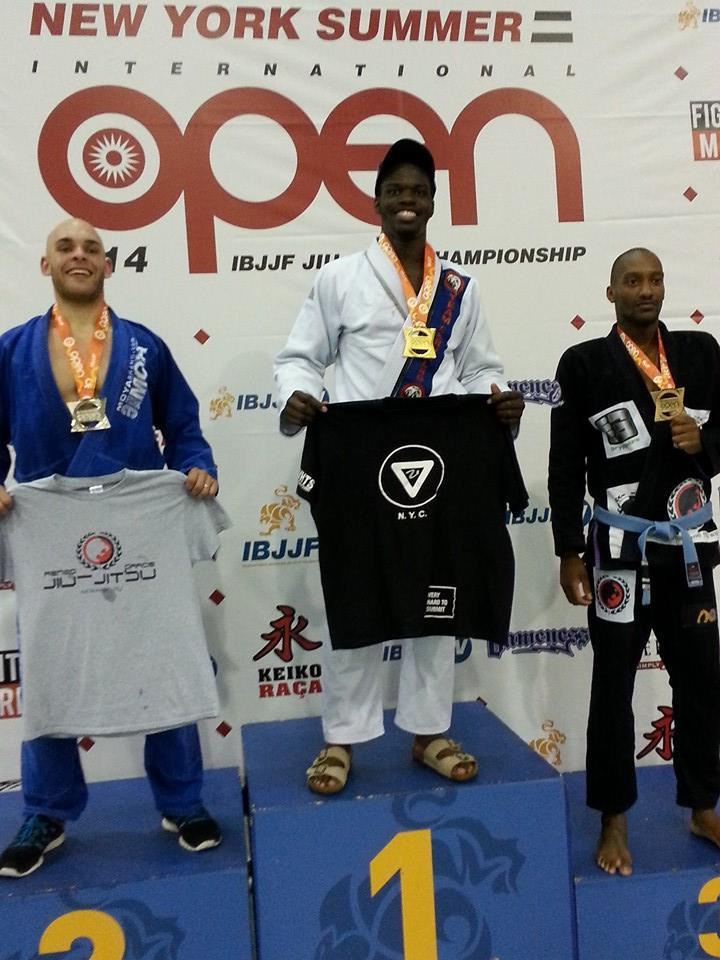VHTS ninja Devhonte got first in open weight class.