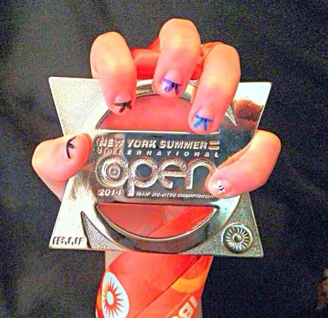 VHTS ninja Hannah Mcguckin got second place in her weight class