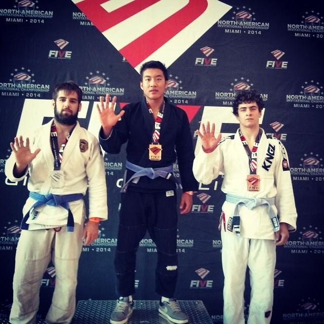 VHTS ninja Eric Con Phan is rocking Galaxy kimono!