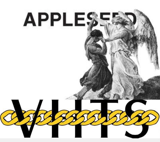 Appleseed logo with the VHTS G-CHAINZ Gi logo