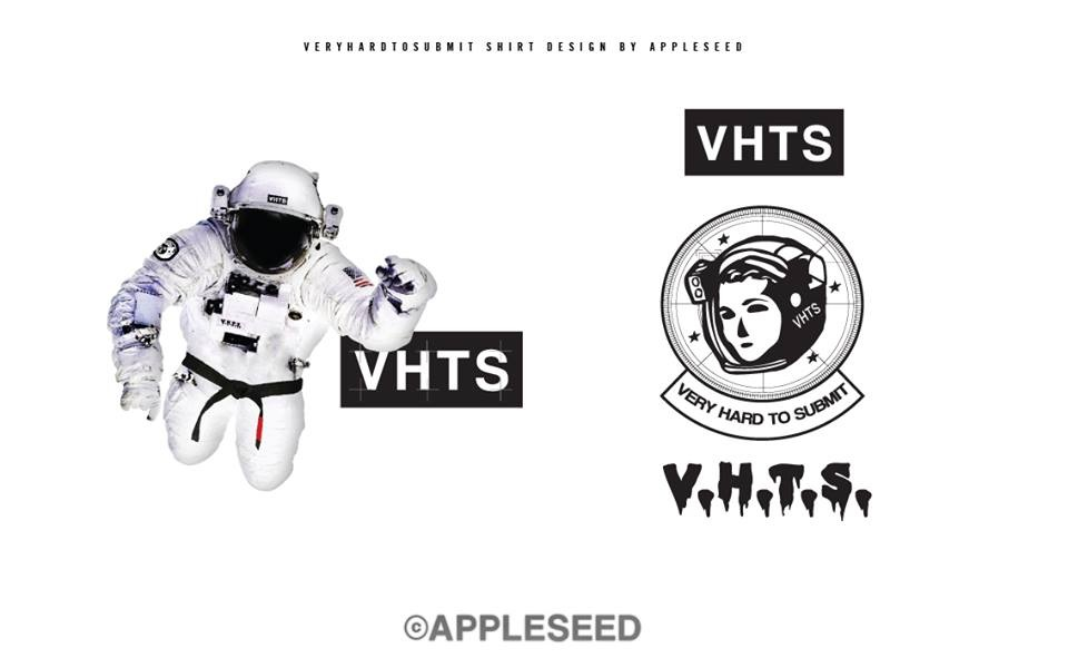 VHTS has also a OUTERSPACE JIU-JITSU PROJECT T-shirt