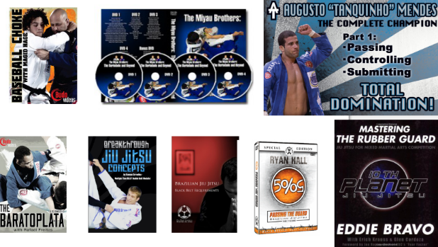 A lot of great bjj instructional videos, there are many more but these are some that I like