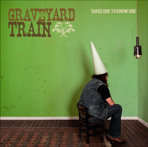 Album Cover Art - Graveyard Train -  Takes One To Know One,  2014 Photography: Emma-Jane Johnston Design: Chris Drane for Black Hat Rackets