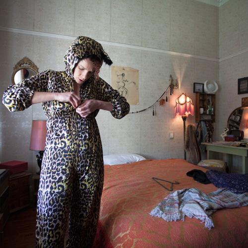 """Sharehouse;  Lisa , 2011 Archival ink on Baryta, 12"""" x 12"""""""