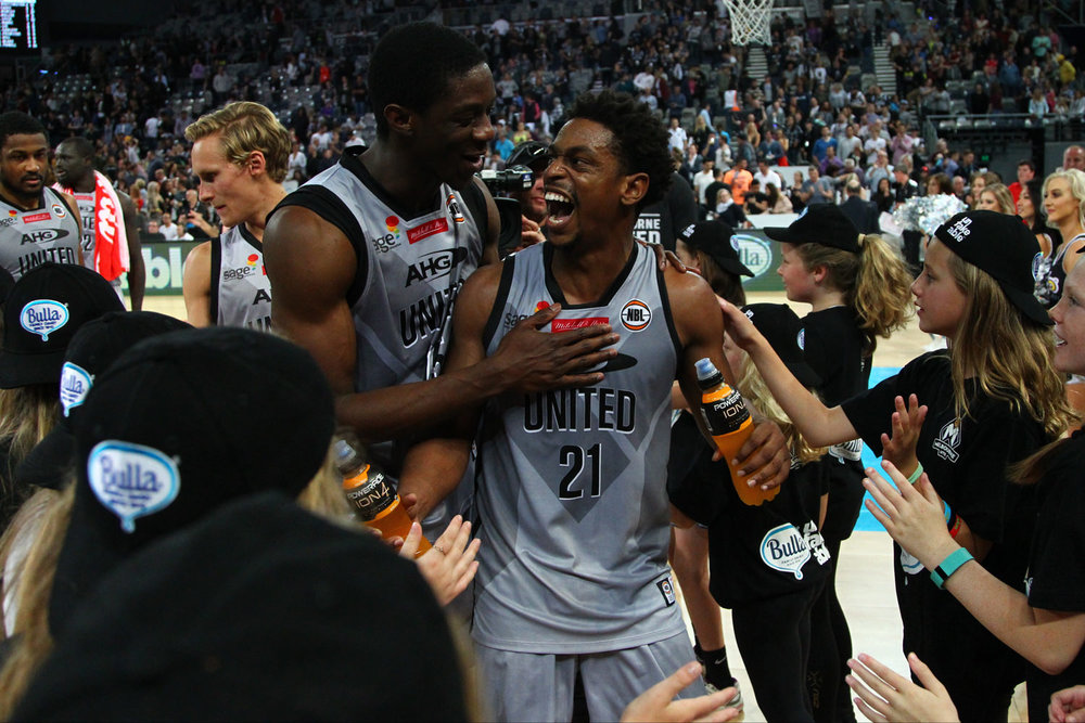 Image courtesy of Melbourne United Basketball Club