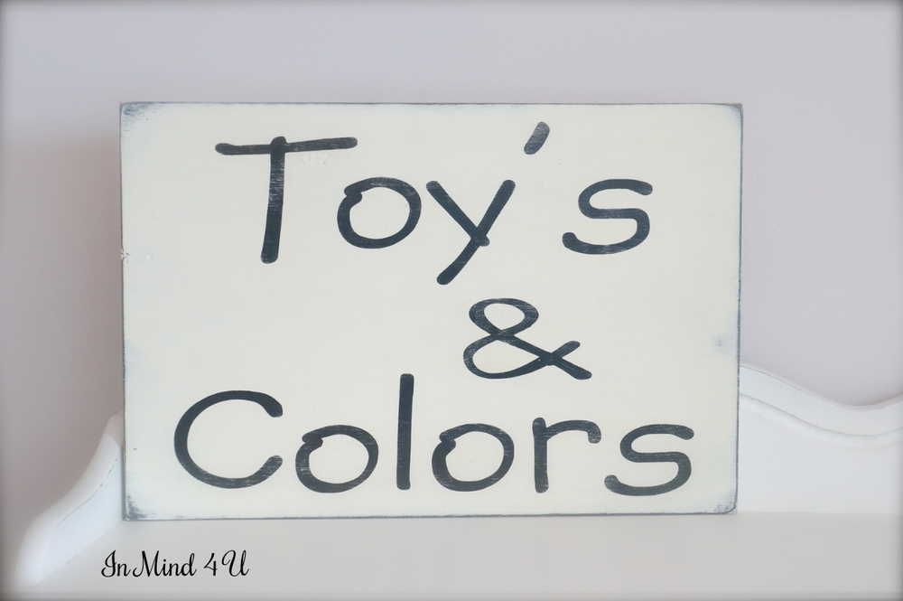 Custom Play Room Sign by In Mind 4 U