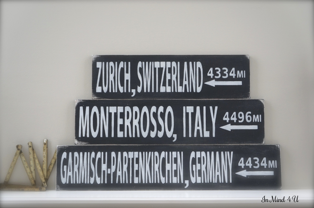 Custom City/Country Signs by In Mind 4 U