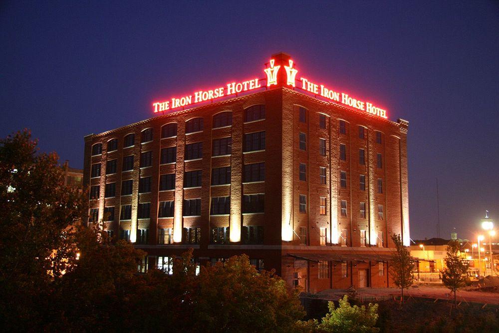 Above:  Iron Horse Hotel near Milwaukee's historic Third Ward. (Photo from Iron Horse Hotel website)