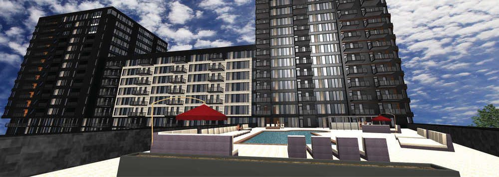 Pool Deck at The Legacy  |  Minneapolis Planning Commission