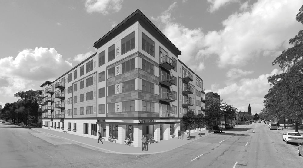 CHROME   MIXED-USE (COMMERCIAL & RESIDENTIAL)  26TH STREET AND STEVENS AVENUE | UPTOWN