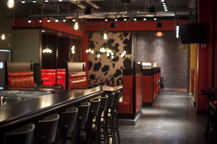 Interior of Red Cow North Loop  |  Red Cow