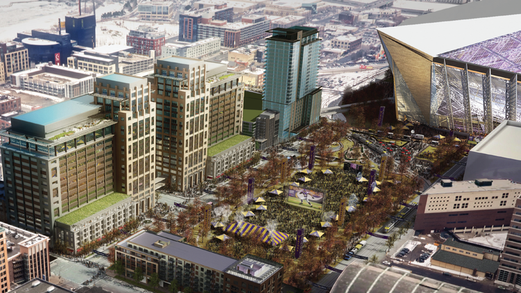Original proposal from Ryan Companies  |  Minneapolis St. Paul Business Journal