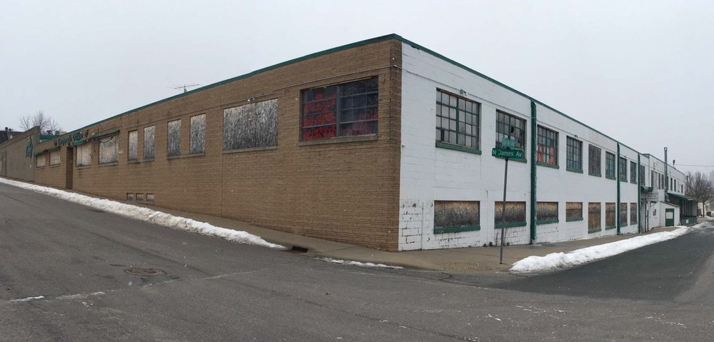 Current Warehouse on site | Minneapolis Planning Commission