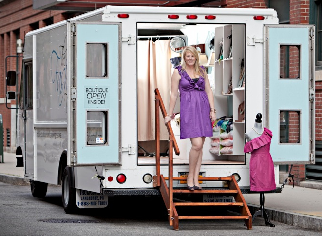 emily benson fashion truck