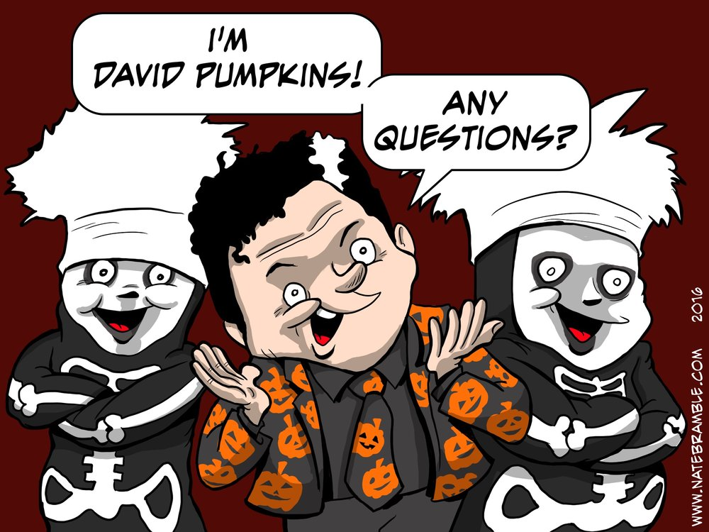 David Pumpkins - SNL Sketch