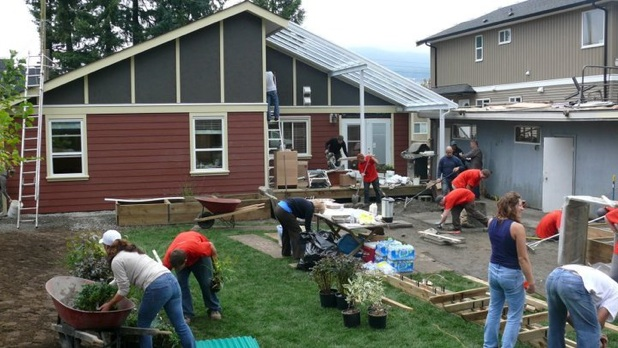 Home Team Project 2012 - Supporting a family in need