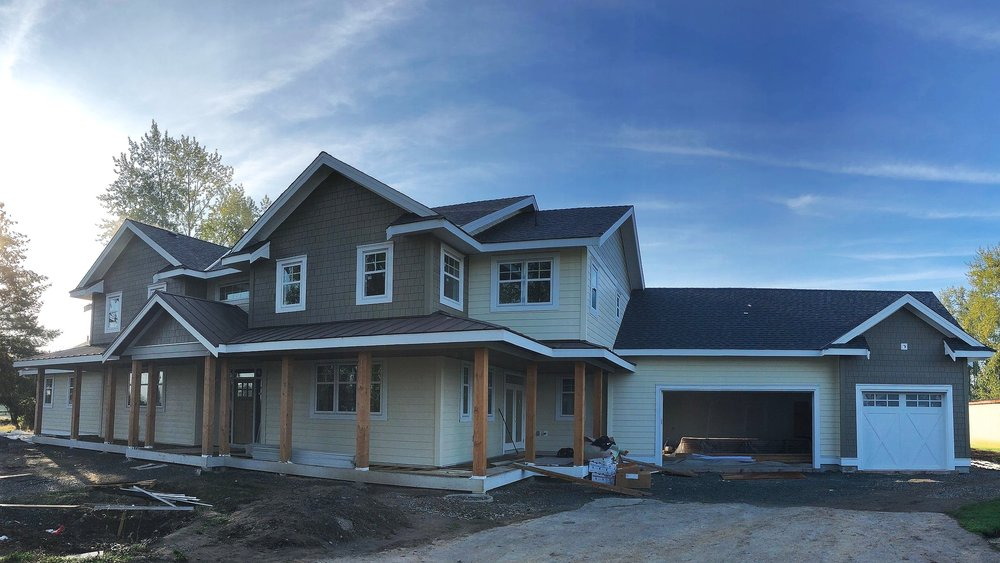 CUSTOM NEW HOME BUILD, ELECTRICAL IN LANGLEY